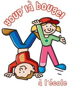 "Logo del progetto ""youp'là bouge!"""