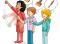 Beweg dich und lerne – Geschicklichkeit: Buntes Klassenzimmer