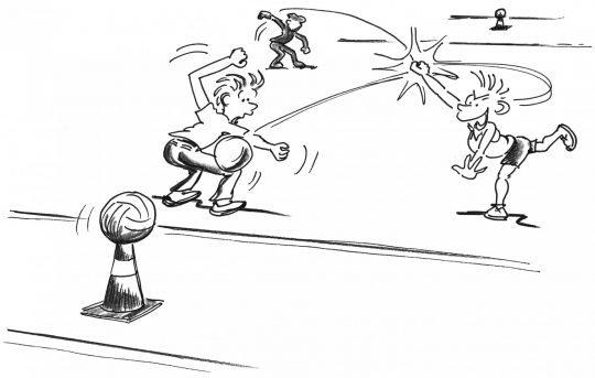 Comic: Symbolbild gemäss Übungsbeschrieb.
