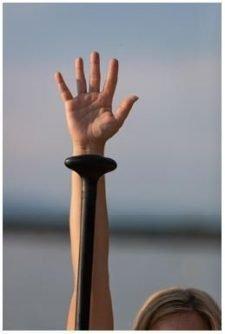 Photo: longueur idéale de la pagaie