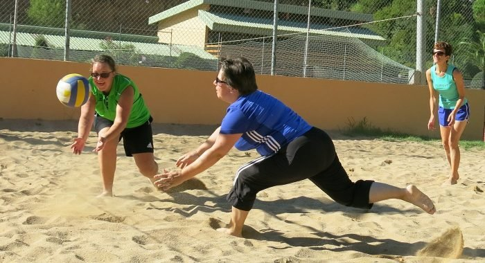 Netzball: Einführungslektion