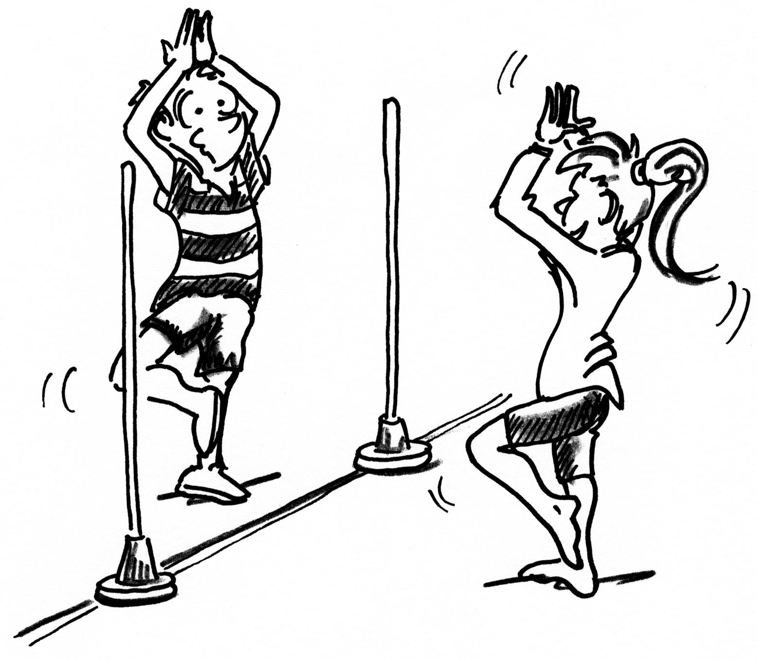 Sport Et Inclusion Interpreter Et Danser Jeux De Miroir Mobilesport Ch