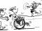 Sport und Inklusion – Bewegen im Freien: Staffellauf (Bewegen an Geräten)