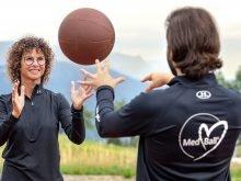 09/2019: Allenamento funzionale con il pallone medicinale