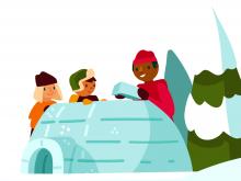 Campi invernali – Attività variate: Programma speciale – Costruire un igloo