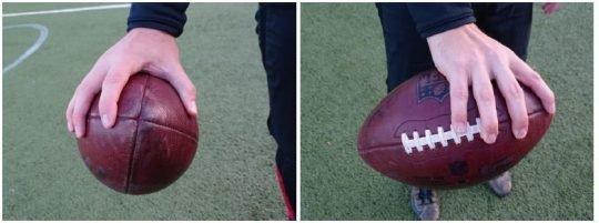Foto: Der Griff des Balls.