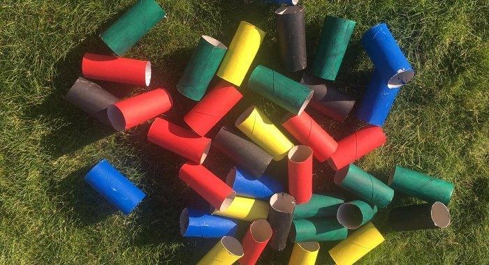 Homeschooling - Für Familien mit Kindern: Alltagsgegenstände als Sportgeräte