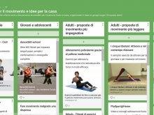 Padlet: Ottimi consigli per mantenersi in forma e in salute