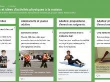 Médiathèque: Conseils pour rester en forme et en bonne santé