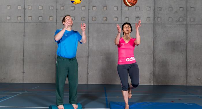 Bewegungstipps – Generation 65+:  Eine gute Koordination ist im  Alter unerlässlich