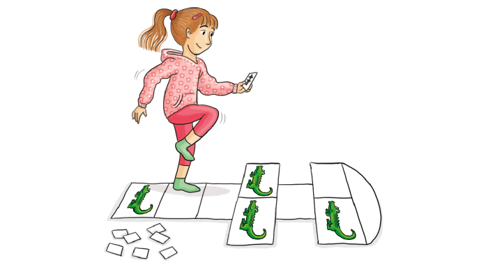 Bewegungstipps – Kindergarten: Ein Gefühl für Zeit und Raum entwickeln