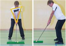 Posture et position par rapport à la balle