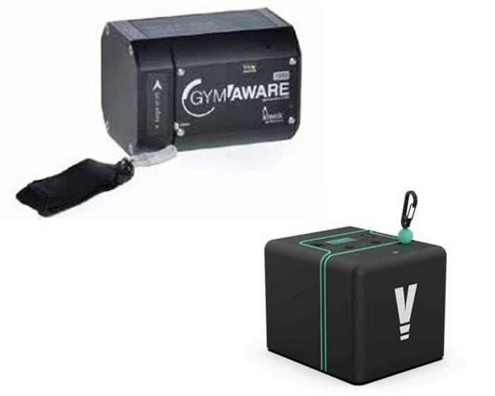 Messung über eine Verbindung (Schnur/Kabel) zur Hantel