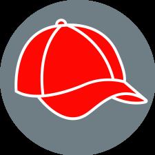 Symbolbild: rotes Cap