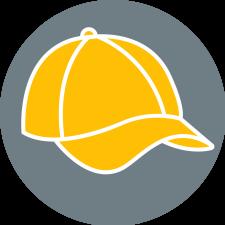 Symbolbild: gelbes Cap