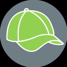 Symbolbild: grünes Cap