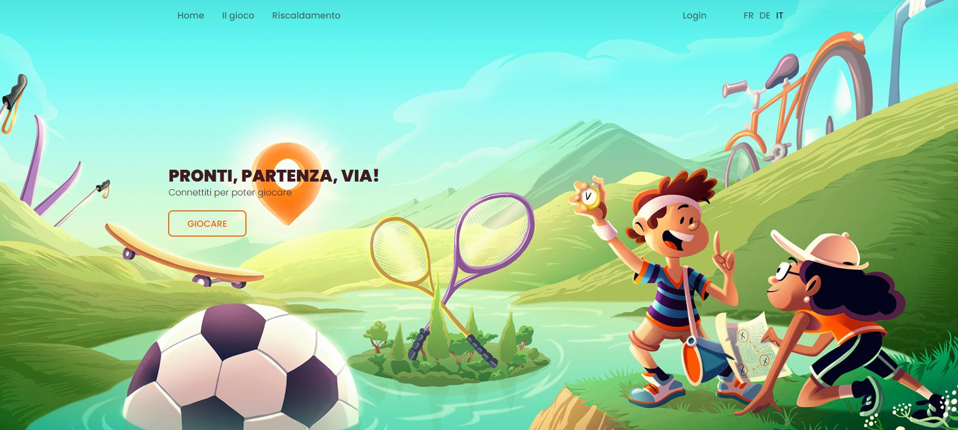 Cattura schermo del sito internet mappa-tesoro.ch