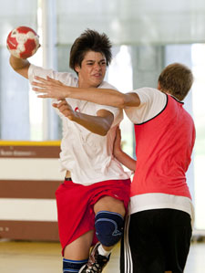 Handball Zeitspiel
