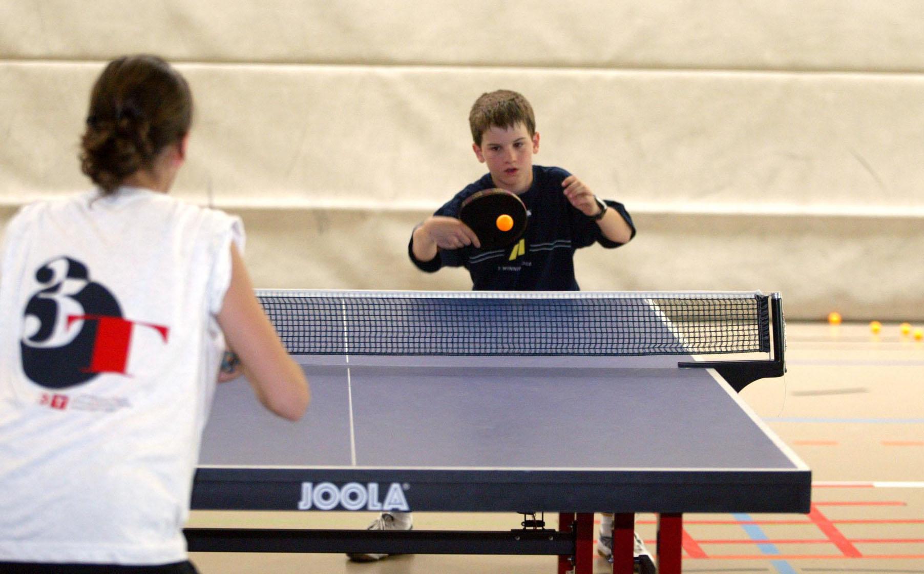 Tischtennis Spiel