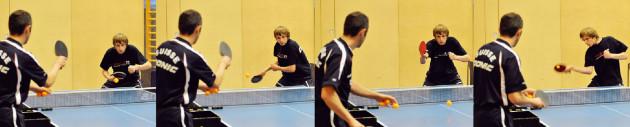 Tennistavolo: La schiacciata