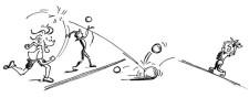J+S-Kids – Volleyball: Lektion 2 «Vom Rollen zum Werfen»