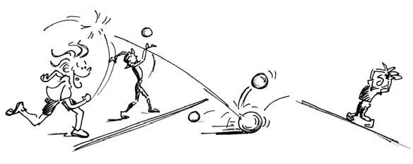 J s kids volleyball lektion «vom rollen zum werfen