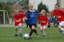Junioren beim Fussballspiel