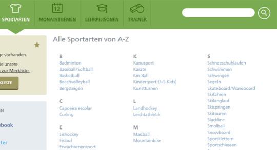 Sportartenzugang_D_de