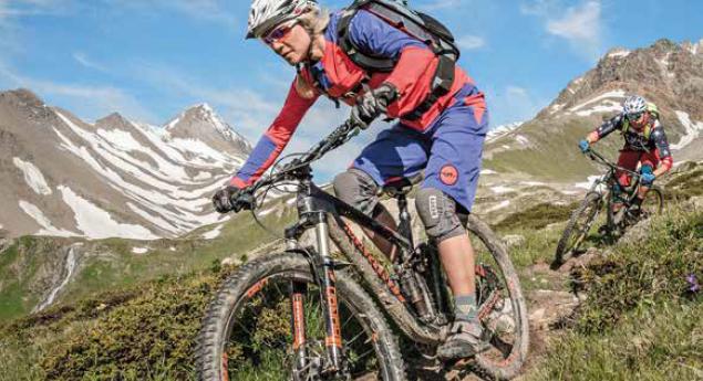 Mountainbike: Sichere Touren mit den bfu-Tipps