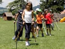 Nordic Walking – Spielformen: Biathlon