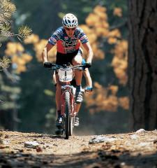 Mountainbike: gioco inseguimente