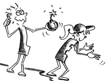 Piccoli giochi con la palla: Rapidità di reazione