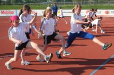 Leichtathletik – Hürden: Pantherschritte