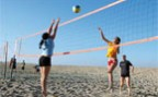 À l'article: Beach volleyball: De la plage à l'école