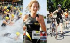 À l'article: Triathlon: Un subtil équilibre