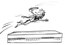Frisbee: Stuntman