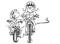 In bicicletta – Esercitare l'abilità: Creazioni a due