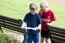 J+S-Kids – Orientierungslauf: Lektion 3 «Foto-OL»