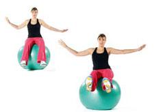 swissball introduction equilibriste. Black Bedroom Furniture Sets. Home Design Ideas