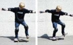À l'article: Skateboard: «Wheelie»