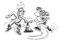 Eislauf – Kleine Spiele: «10-erle»