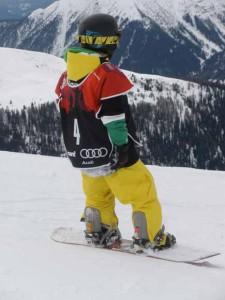 J+S-Kids – Snowboard: Leçon 10 «Chemins sûrs»