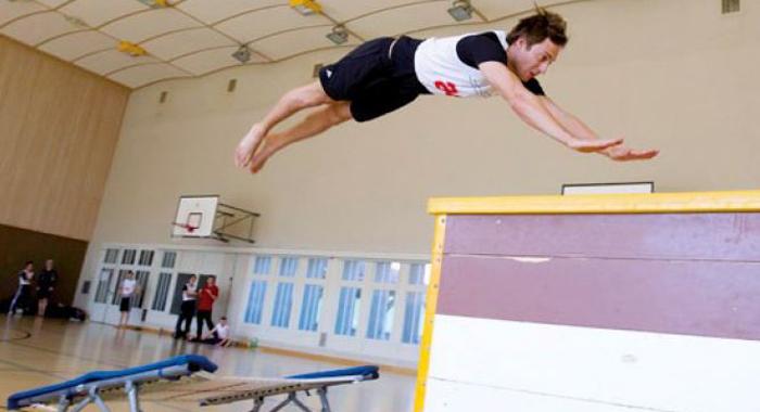Mini-trampoline: Prérequis et bases