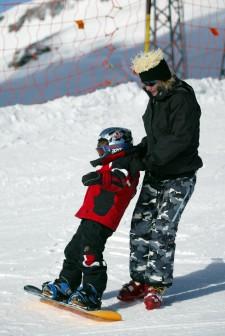J+S-Kids – Snowboard: Leçon 6 «Vivre l'équilibre»