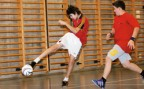 À l'article: Futsal: Technique de pointe
