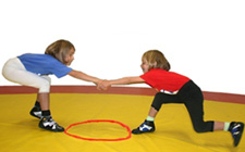 J+S-Kids – Ringen: Lektion 4 «Spielen, Raufen und Kämpfen l»