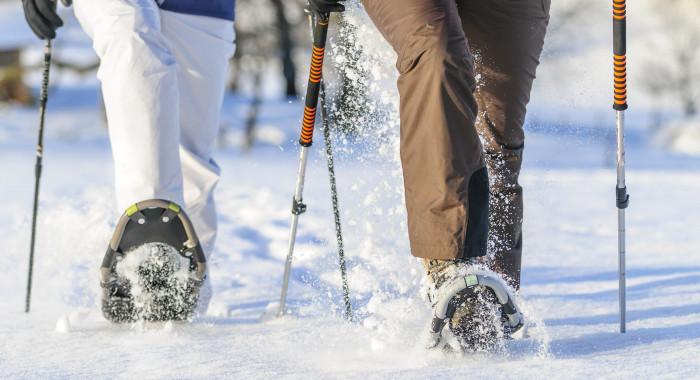 Raquettes à neige: Par monts et par vaux