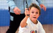 J+S-Kids – Badminton: Lektion 5 «Von oben schlagen»