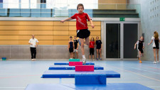 Leichtathletik-Tests: Bewegung statt Leistung