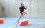 À l'article: Tests d'athlétisme: 4.1 Course de haies – Niveau 4 (U12/U14)
